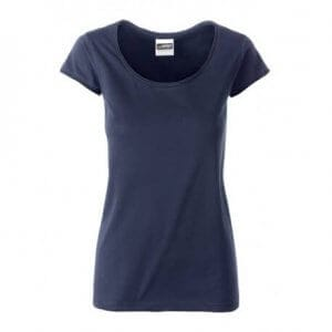blauw dames T-shirt