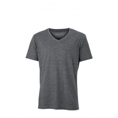 Heren T-shirt V-neck
