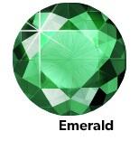 Emerald hotfix stone