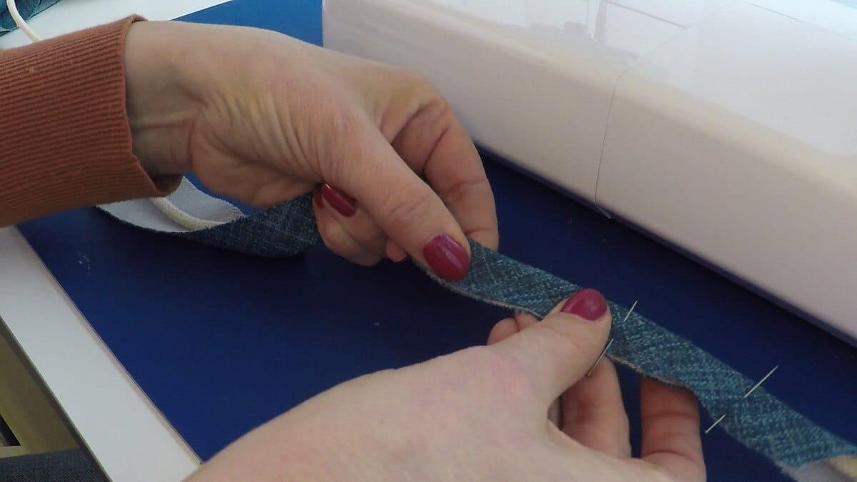 Paspelband maken