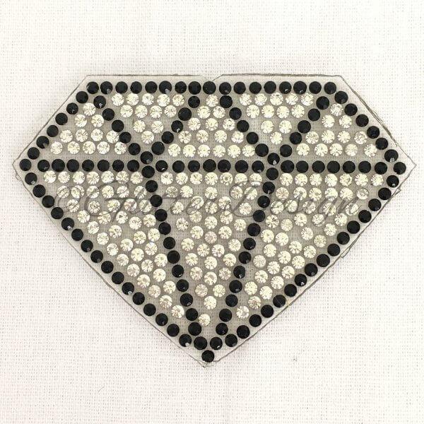 Patches en strijkapplicaties Diamant