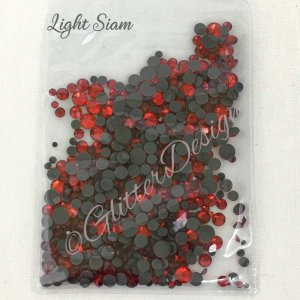 Strass steentjes Light Siam Mix